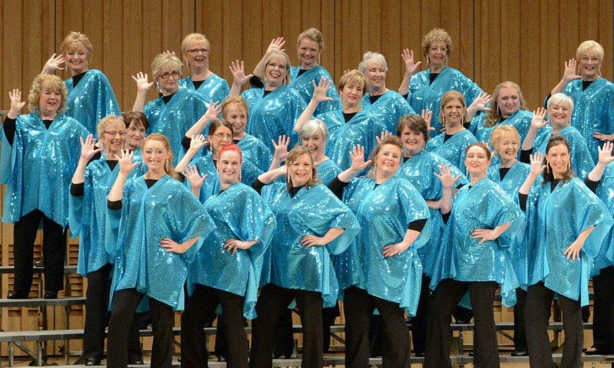 The Aberdeen Chorus of Sweet Adelines have celebrated their 40th anniversary.