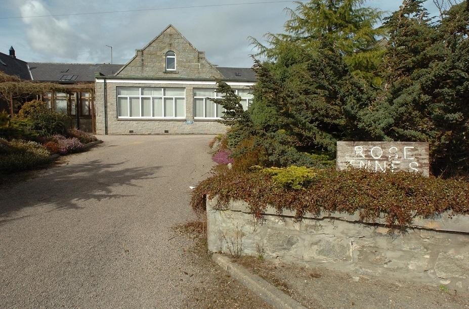The former Rose Innes Home in Aberchirder.