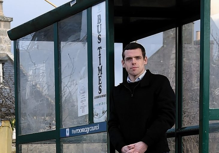 Moray MP Douglas Ross is eager to see replacement bus companies serve the Forbeshill area of Forres.
