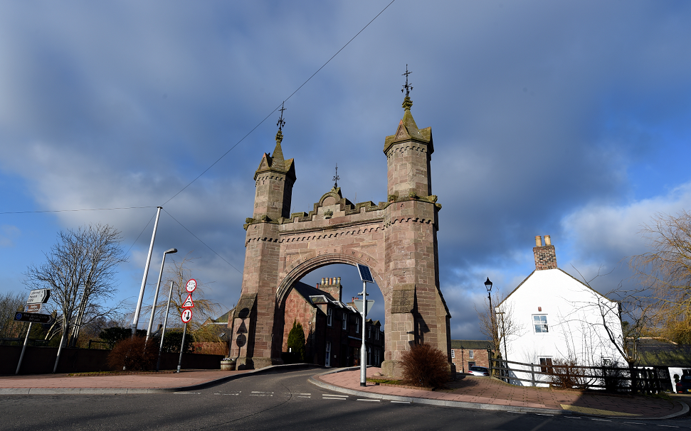 The Royal Arch in Fettercairn