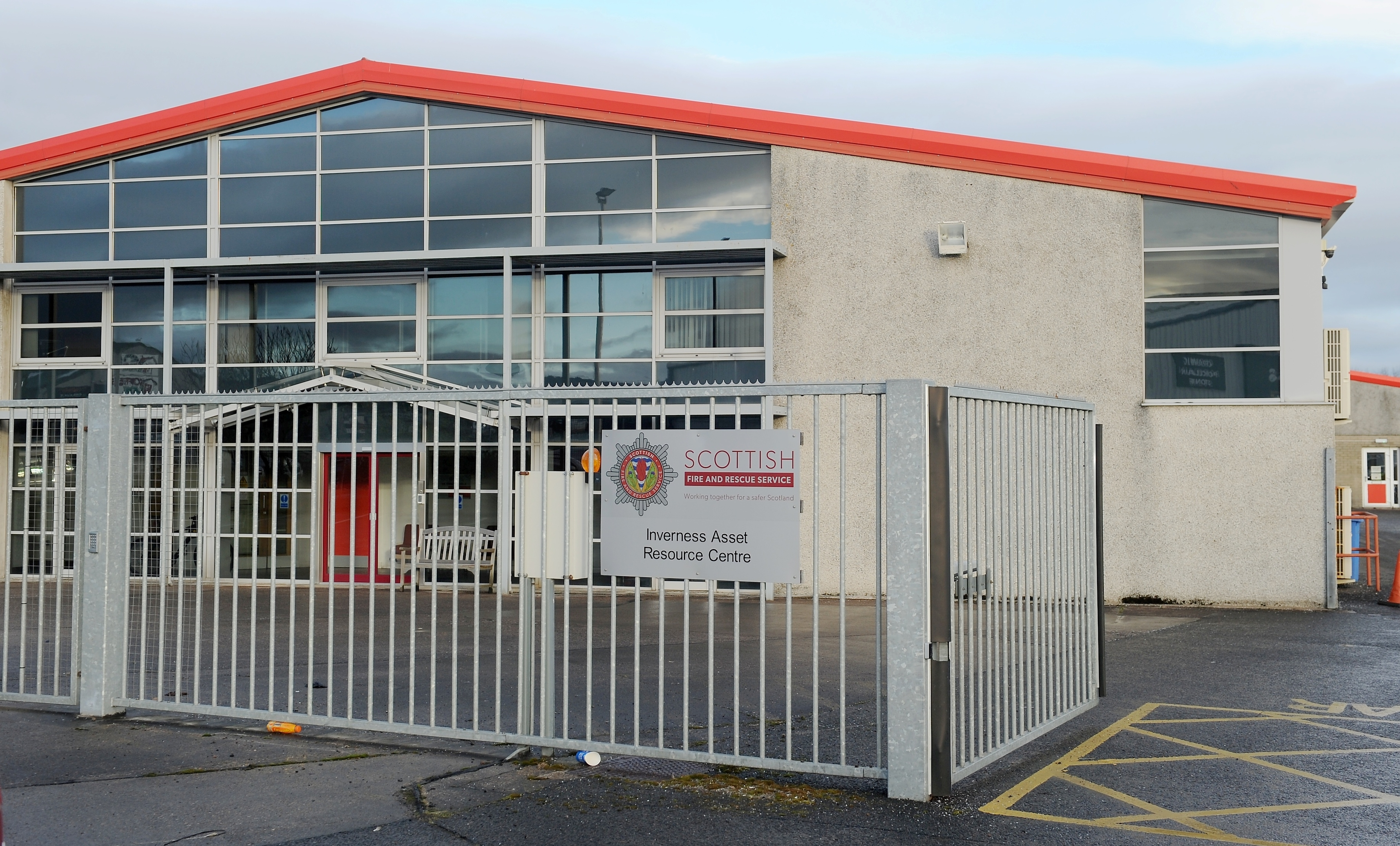 The former Inverness Control room of the Scottish Fire and Rescue Service which has now been transferred to Dundee.