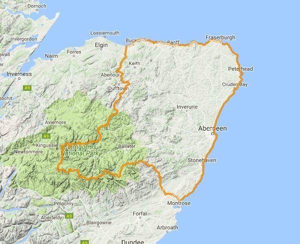 Amber flood alert for Aberdeenhshire and Aberdeen city