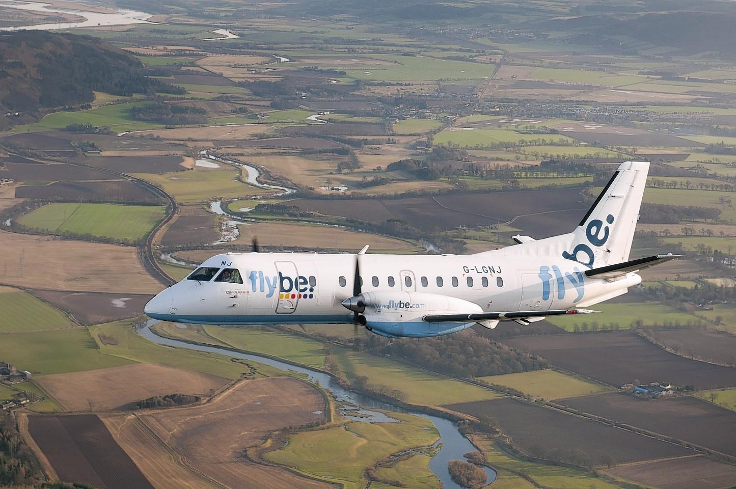 Loganair Saab 340