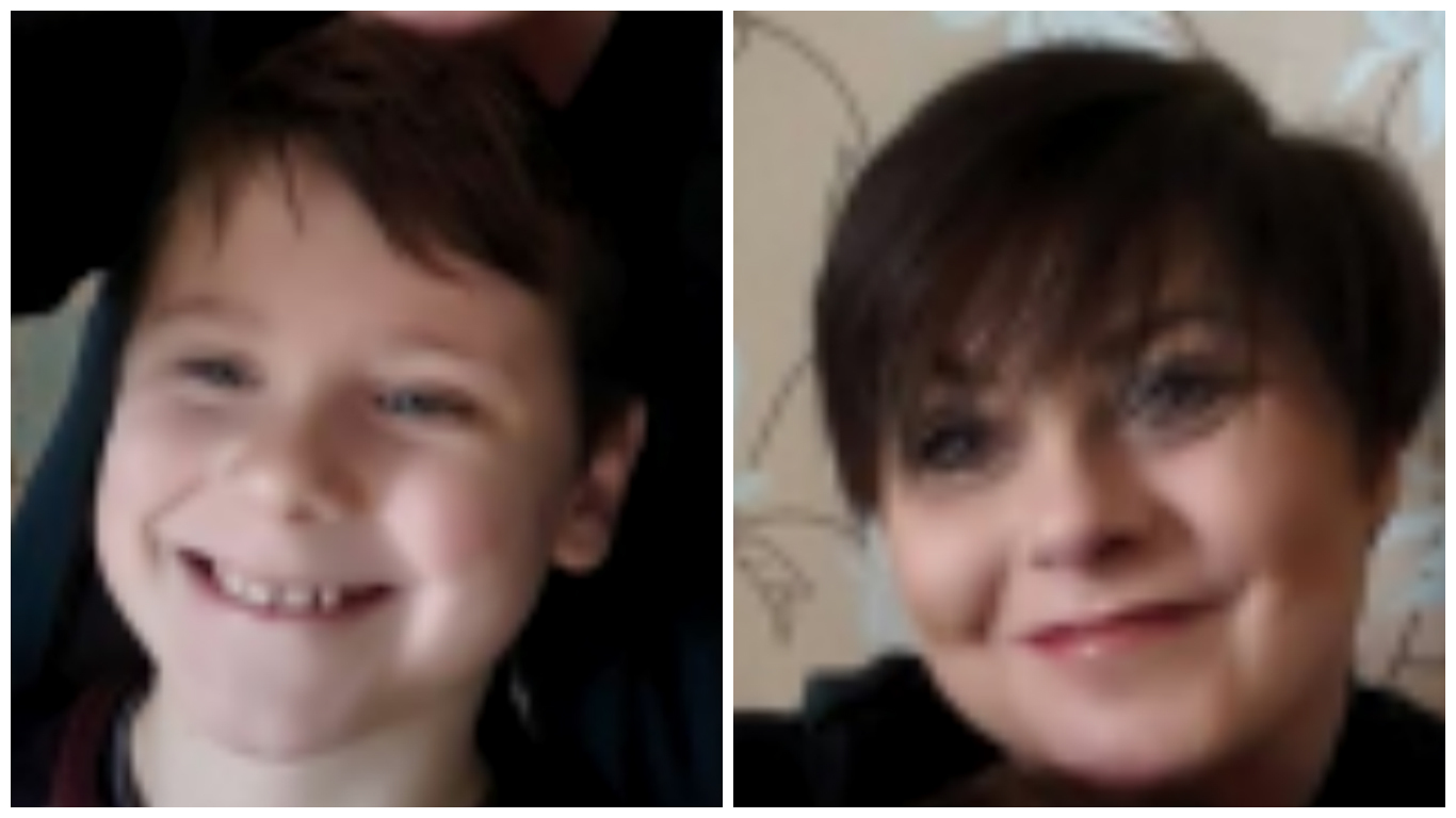 Linzi Davis and River Bain have been found in Edinburgh