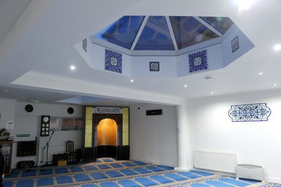 The Inverness Mosque in Portland Place.