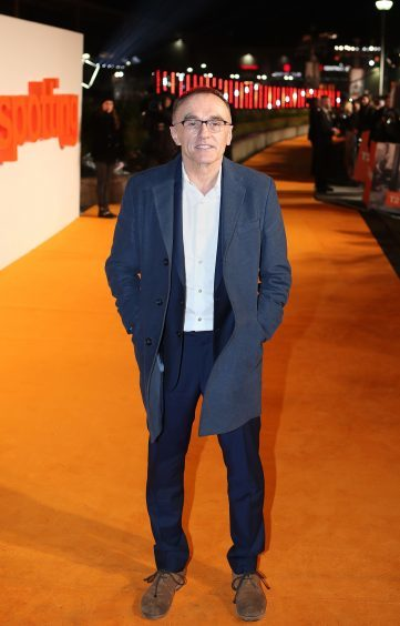 Danny Boyle arriving at the world premiere of Trainspotting 2 at Cineworld in Edinburgh.