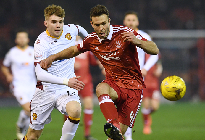 The Dons have one win and one defeat against Motherwell this season.