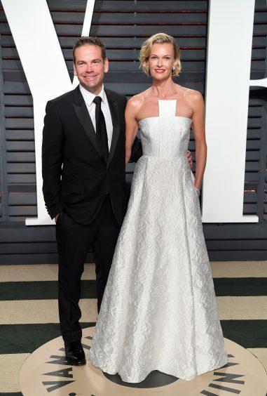 Lachlan Murdoch and Sarah Murdoch. Photo credit: PA/PA Wire