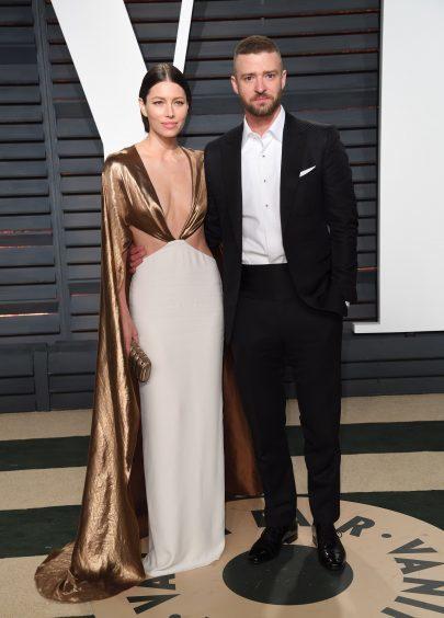 Jessica Biel and Justin Timberlake. Photo credit: PA/PA Wire