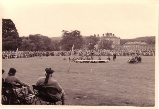 About 30,000 people attended the glory years of the Gordon Castle Highland Games in the 1930s.
