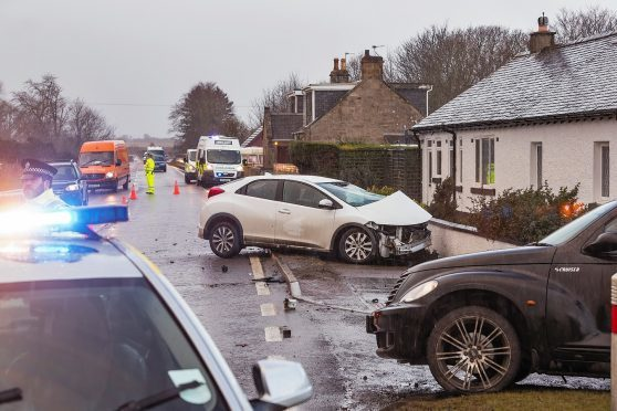 This is the RTC on the A96 at Allanfearn,