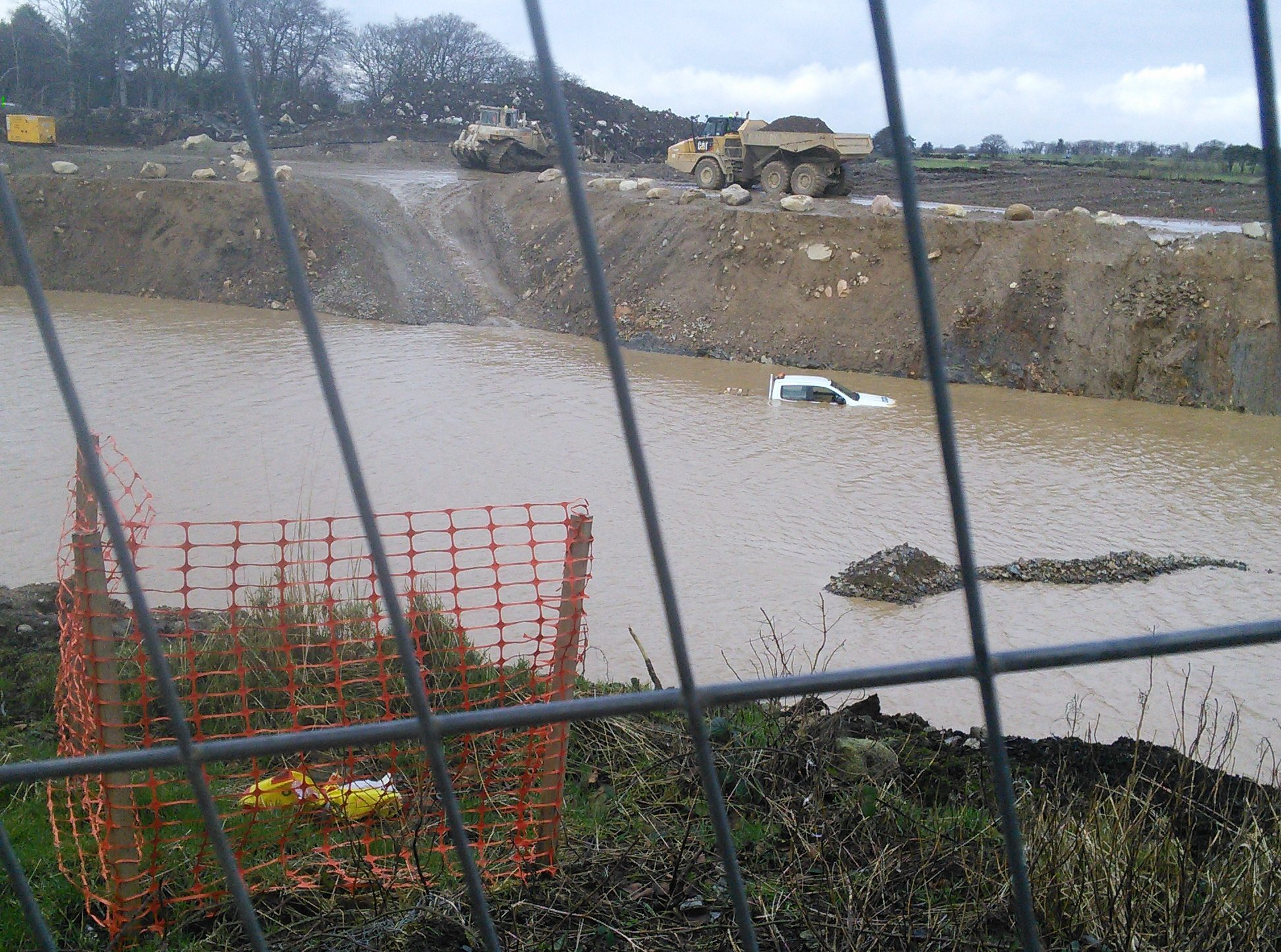 Aberdeen Roads Limited has been fined for polluting rivers while building the AWPR.