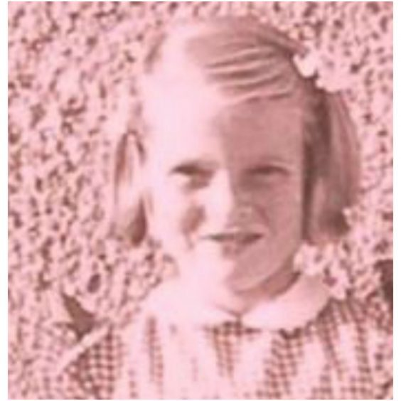 Irene as a young girl