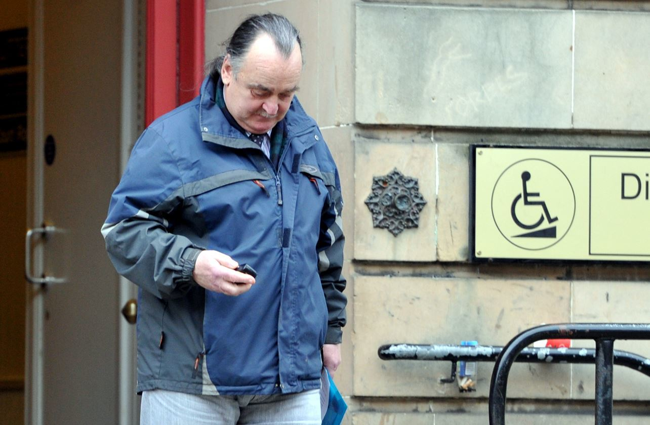Brian Davies was sentenced to 300 hours of unpaid work when he appeared at Elgin Sheriff Court.