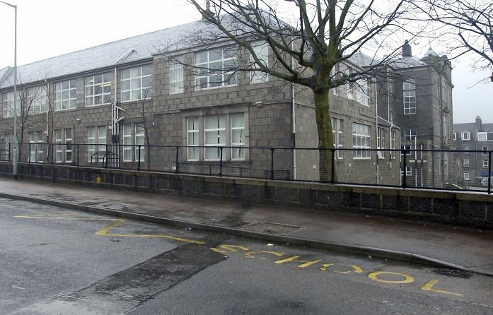 Walker Road School in Torry