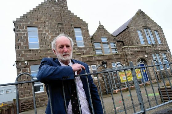 """Councillor Charles Buchan was """"proud"""" at the launch of the scheme"""