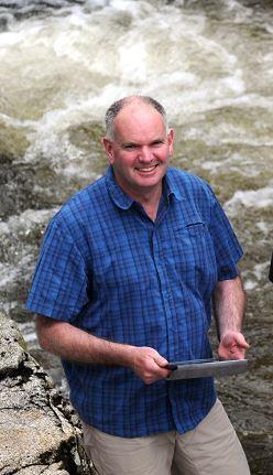 Colin Bruce, of Braemar Mountain Sports