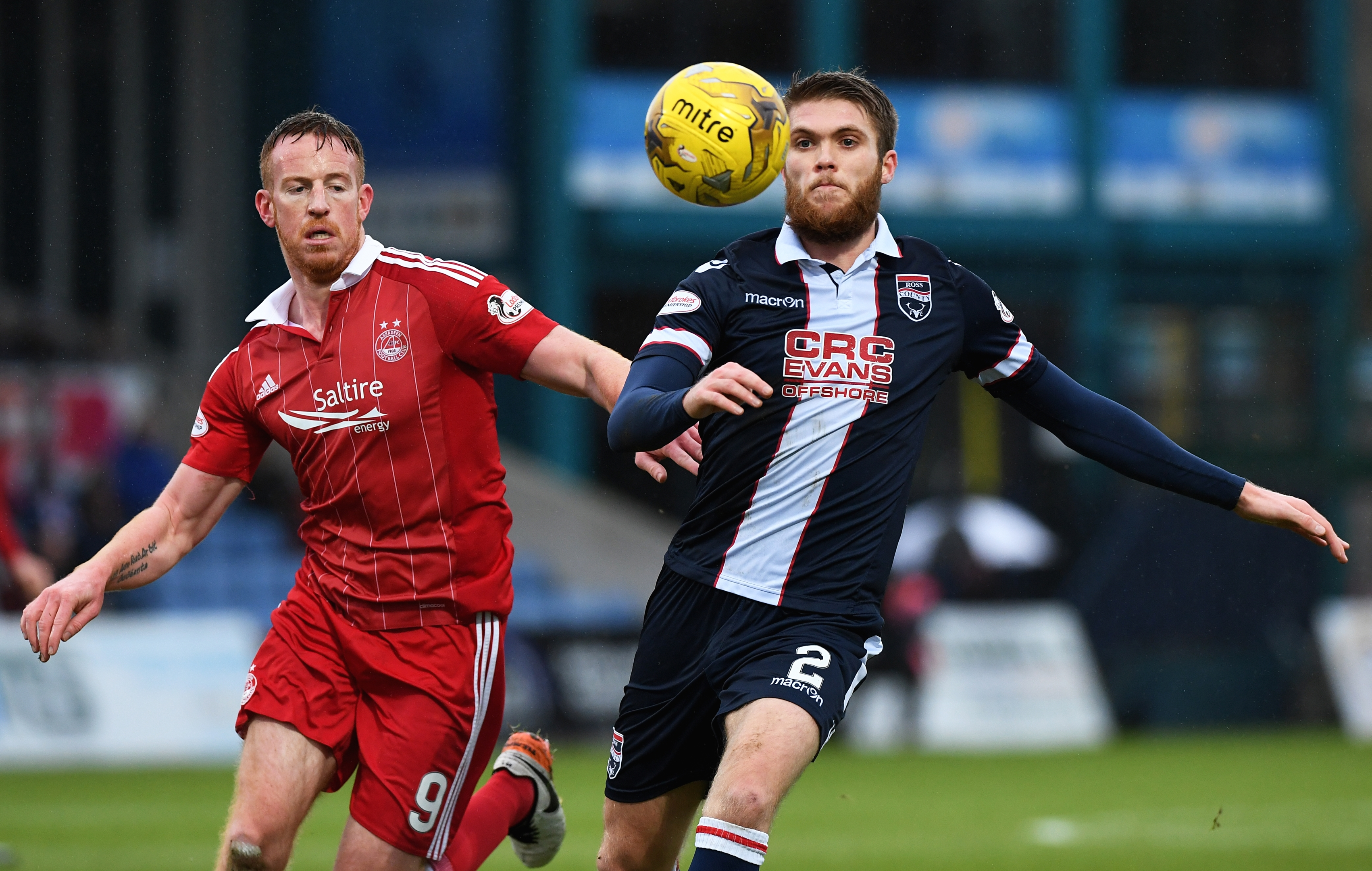 Marcus Fraser will remain with Ross County until 2018.