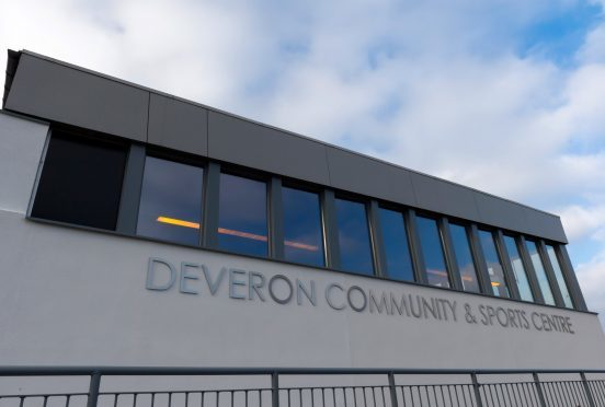 The Deveron sports centre in Banff