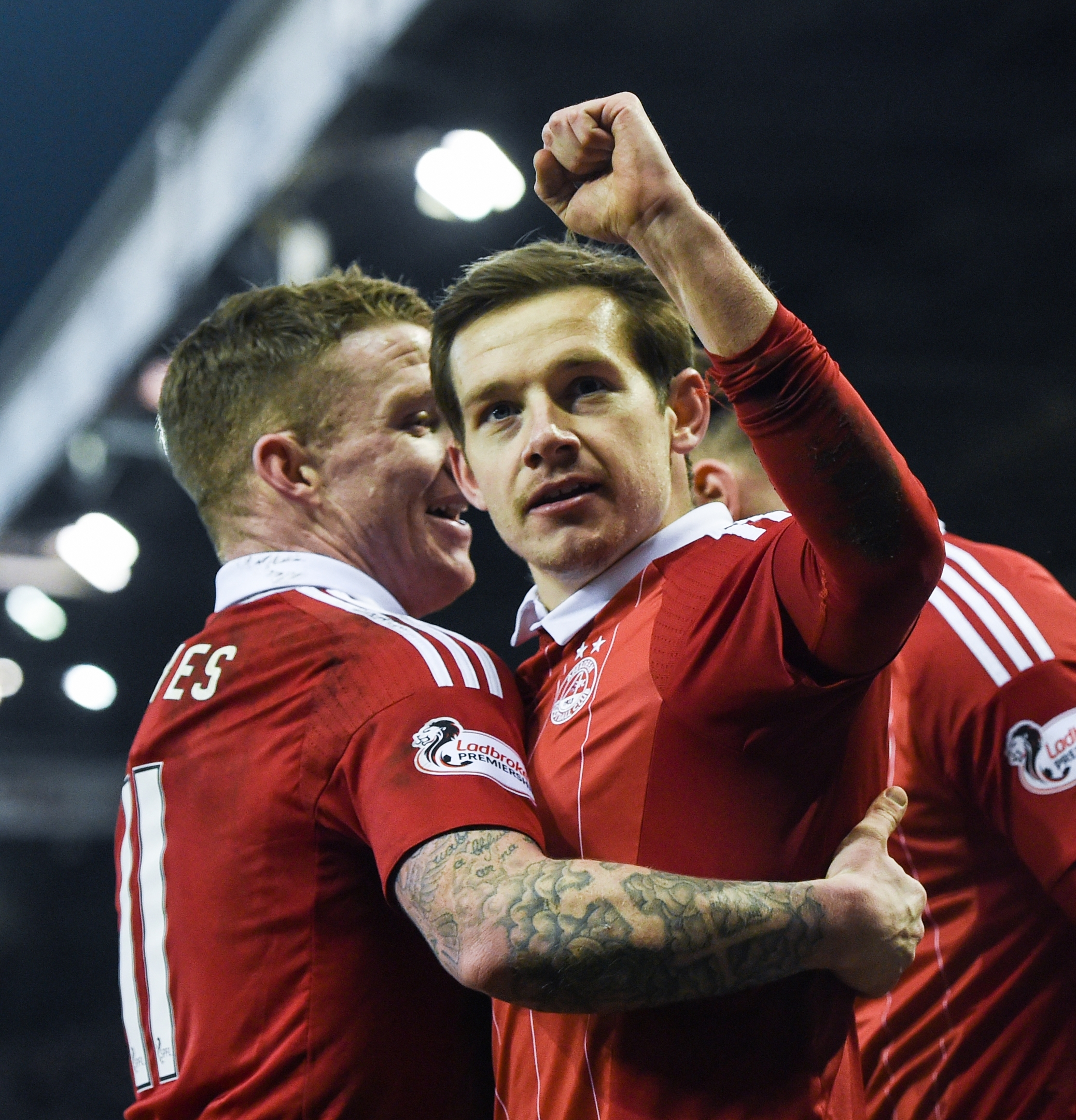 Peter Pawlett: Came off the bench to score for Aberdeen.