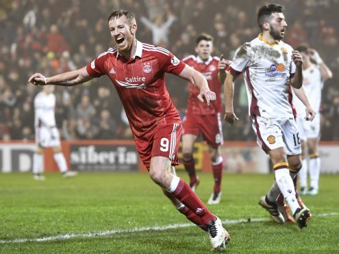 Adam Rooney has finished top scorer at Pittodrie three years on the trot.