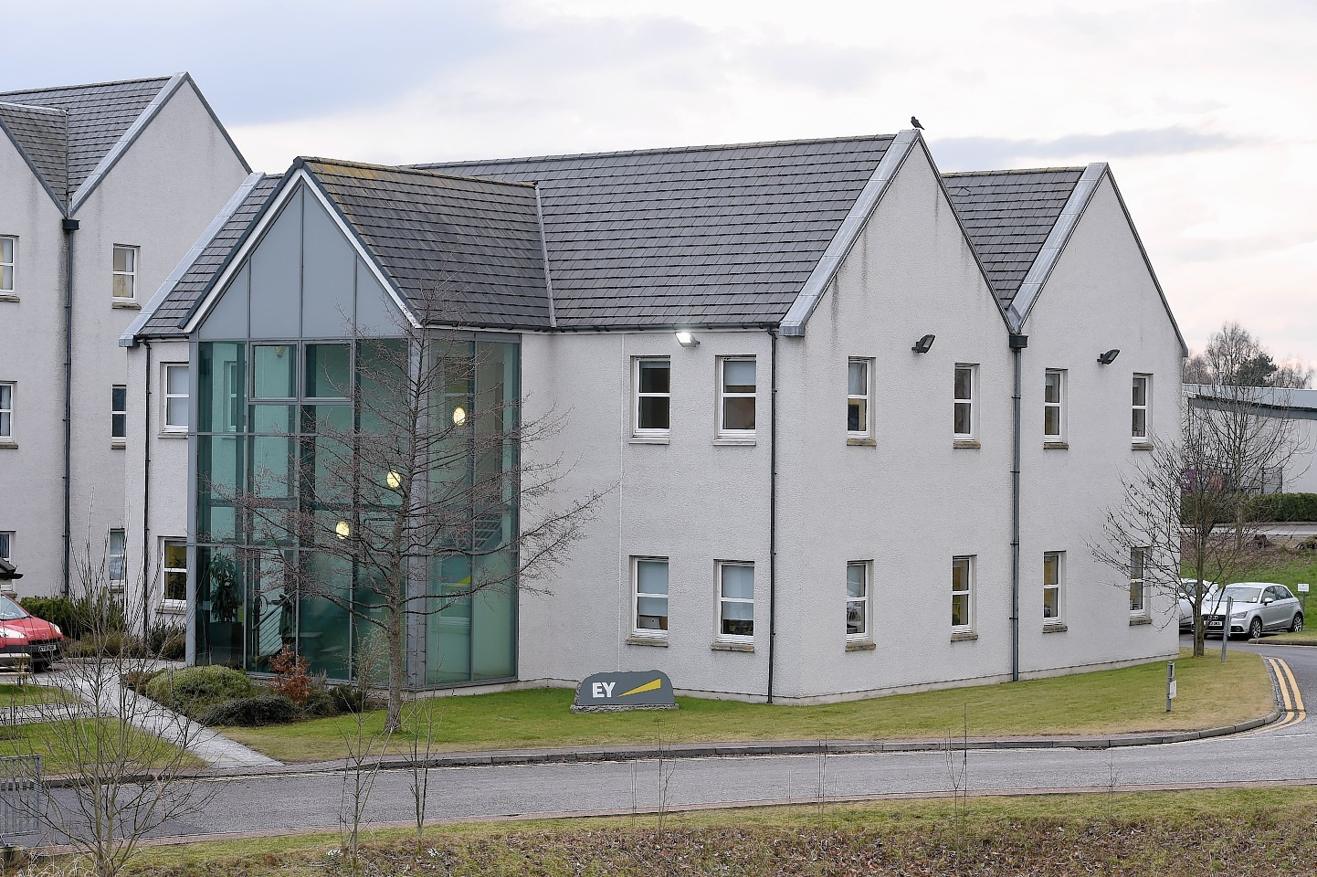 EY's offices at Stoneyfield Business Park, in Inverness