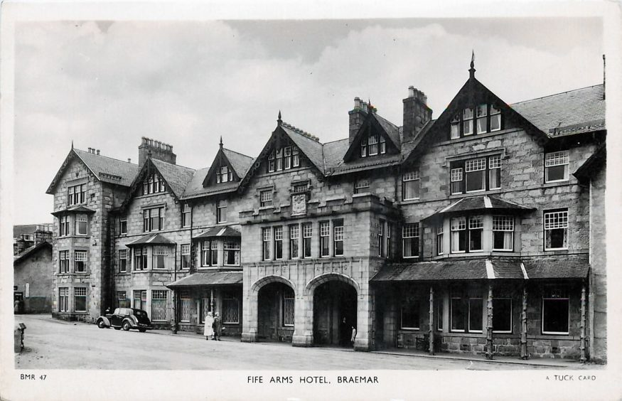 How the hotel once looked