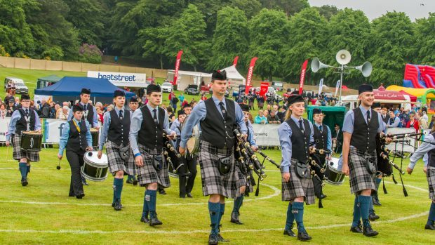 More than 100 pipe bands are expected to compete at this year's event.