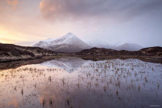 Glamaig Reflection by Nick Hanson