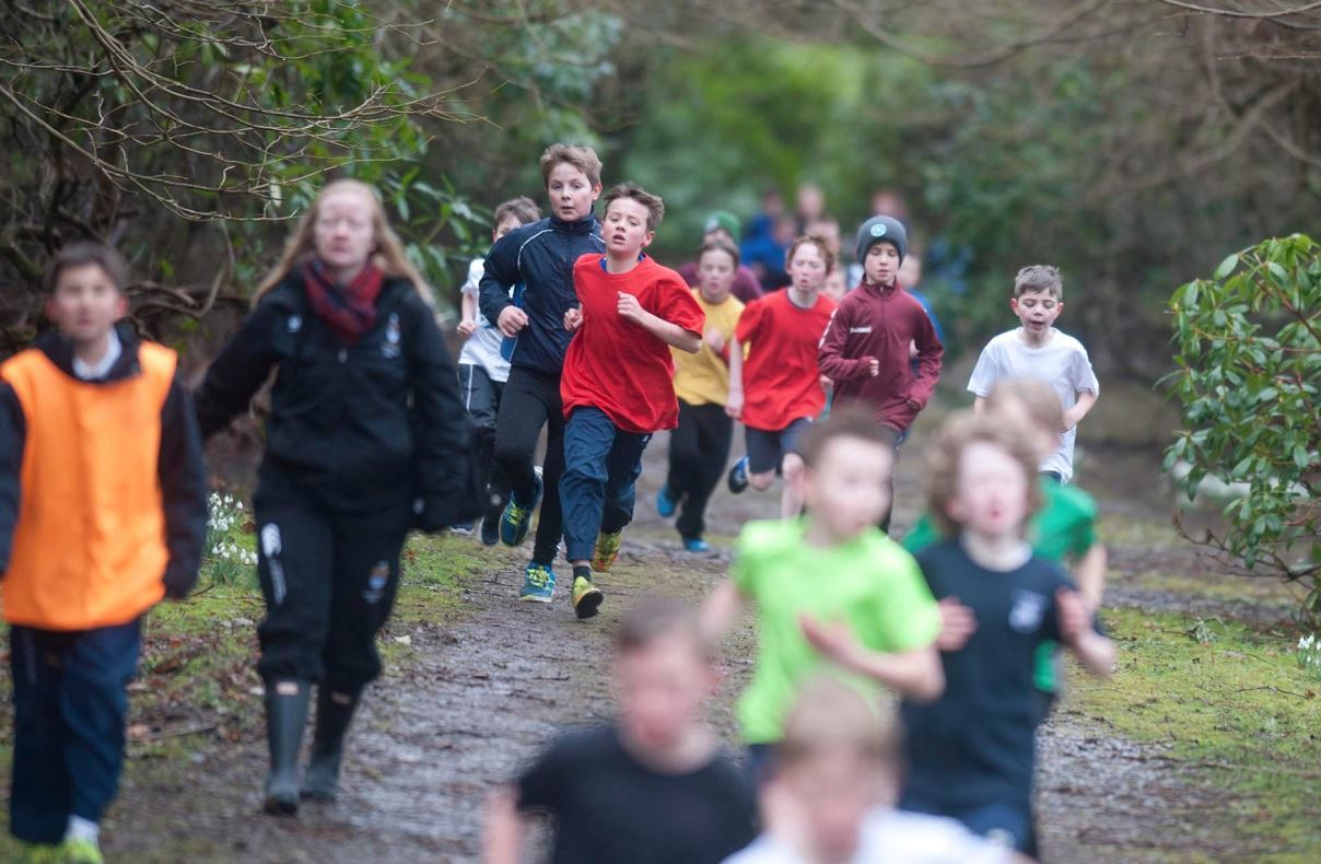 More than 200 primary school pupils took part in the races.