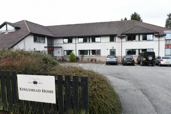 Staff were drafted in to take control of crisis-hit Kingsmead Nursing Home after a damning Care Inspectorate report.