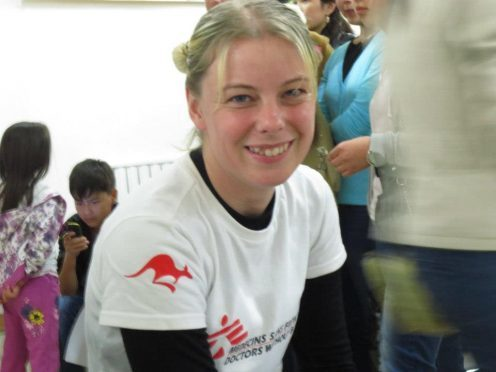 Victoria Harris has been part of the medical response to Ebola and HIV outbreaks in Africa.