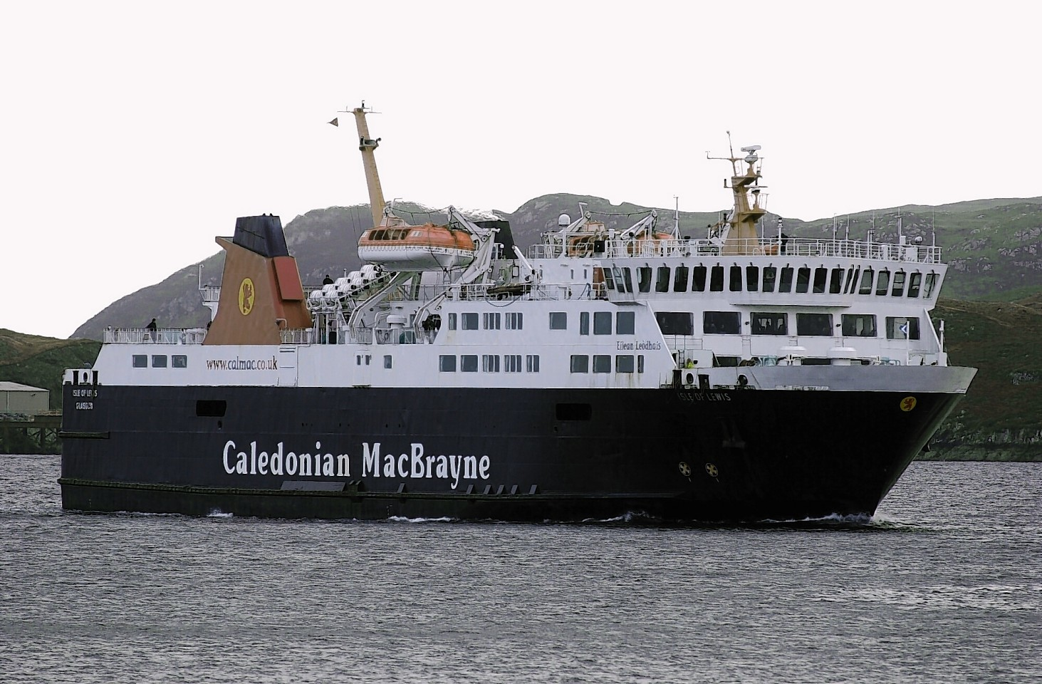 The MV Isle of Lewis had been stranded in Barra in the earlier parts of this week