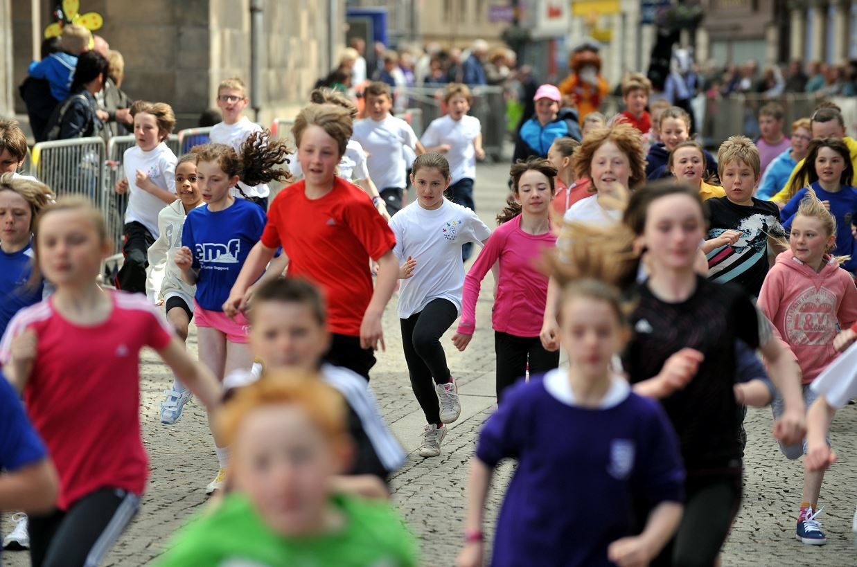A Marafun junior race is open to P6 and P7 pupils.