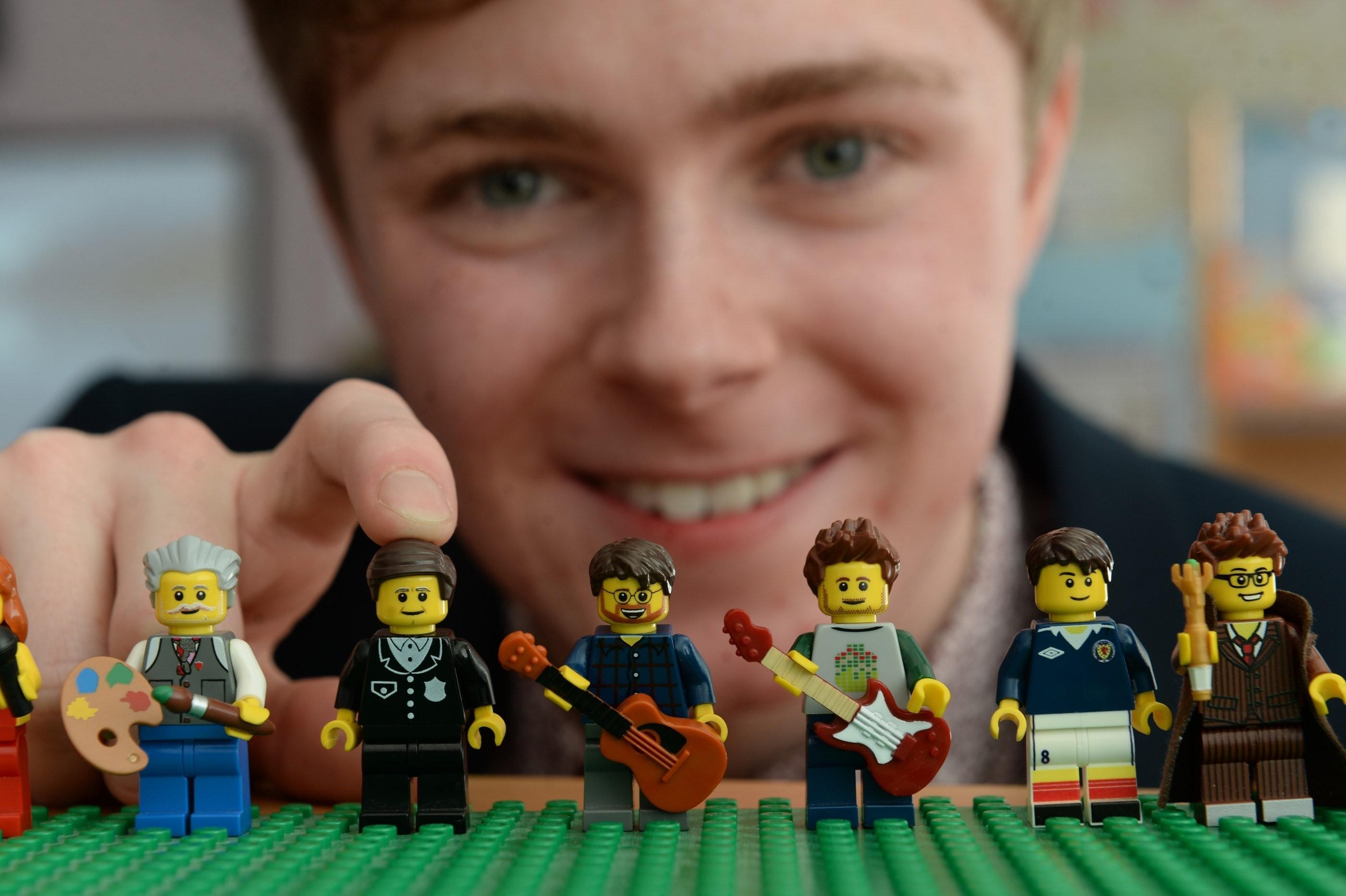 Teenage Lego animator Morgan Spence