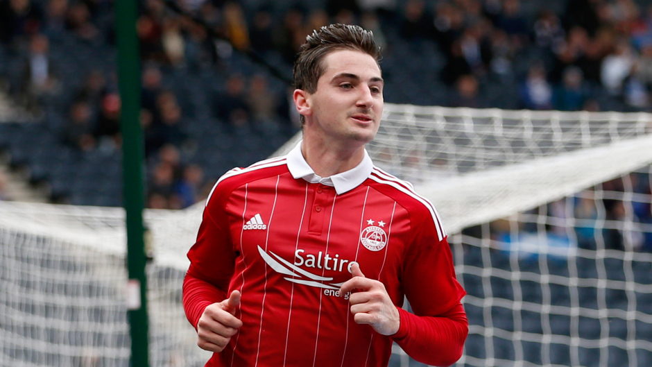 Kenny McLean netted from the penalty spot for the Dons.
