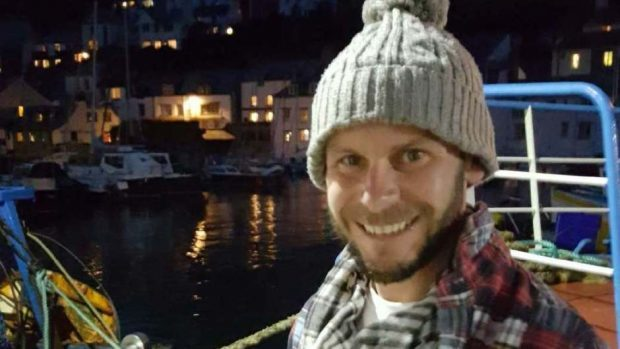 Dominic Jackson went missing on a weekend kayaking trip off the north coast of Aberdeenshire (Police Scotland/PA Wire)