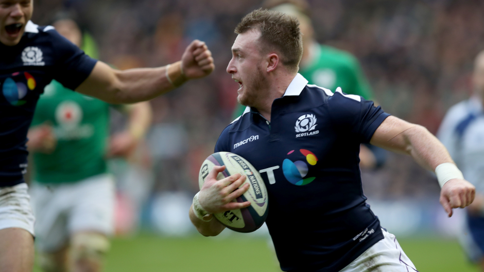 Stuart Hogg is one of many players missing through injury from the Six Nations.