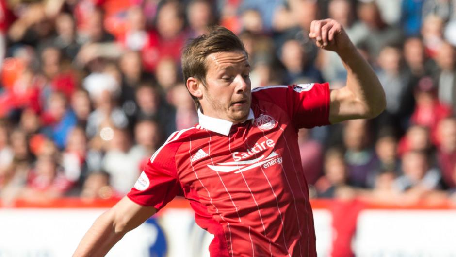 Aberdeen's Peter Pawlett looks set to join MK Dons.