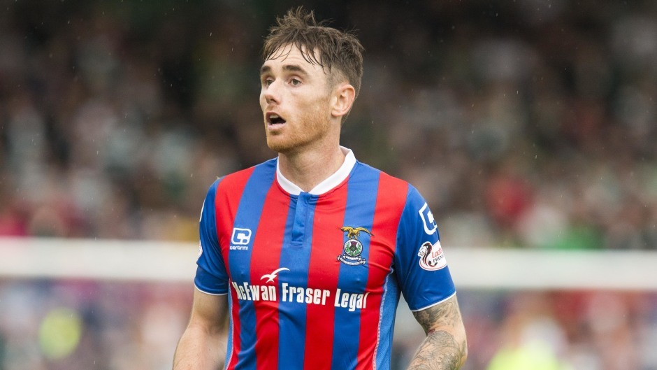 Greg Tansey opened the scoring for Caley Thistle.