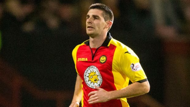Kris Doolan netted twice for Partick Thistle.