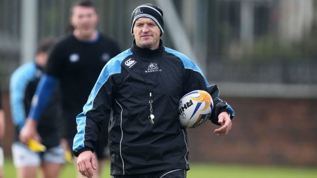 Gregor Townsend has offered his support to Laidlaw.