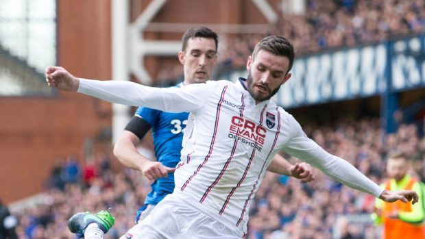 Derek McInnes was keen to sign Jason Naismith from Ross County.