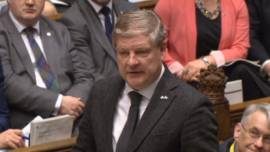 SNP Westminster leader Angus Robertson pushed the SNP's call for Scotland to have different arrangements to the rest of the UK after Brexit
