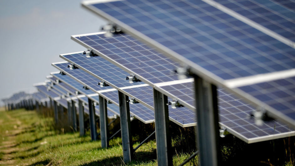 Solar panels worth around £7,000 were stolen from the Stoneywood area.