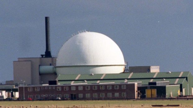 The Nuclear Reprocessing Plant at Dounreay.