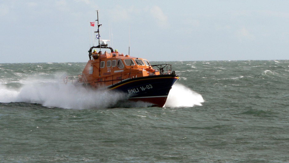 Coastguard and lifeboat teams were involved in the search.