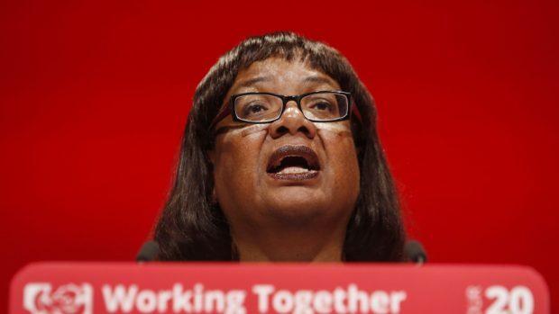 Shadow home secretary Diane Abbott
