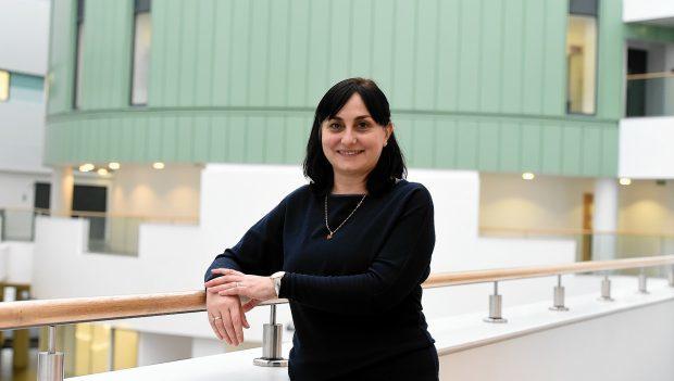 RGU's head of Computing Science and Digital Media, Professor Chrisina Jayne