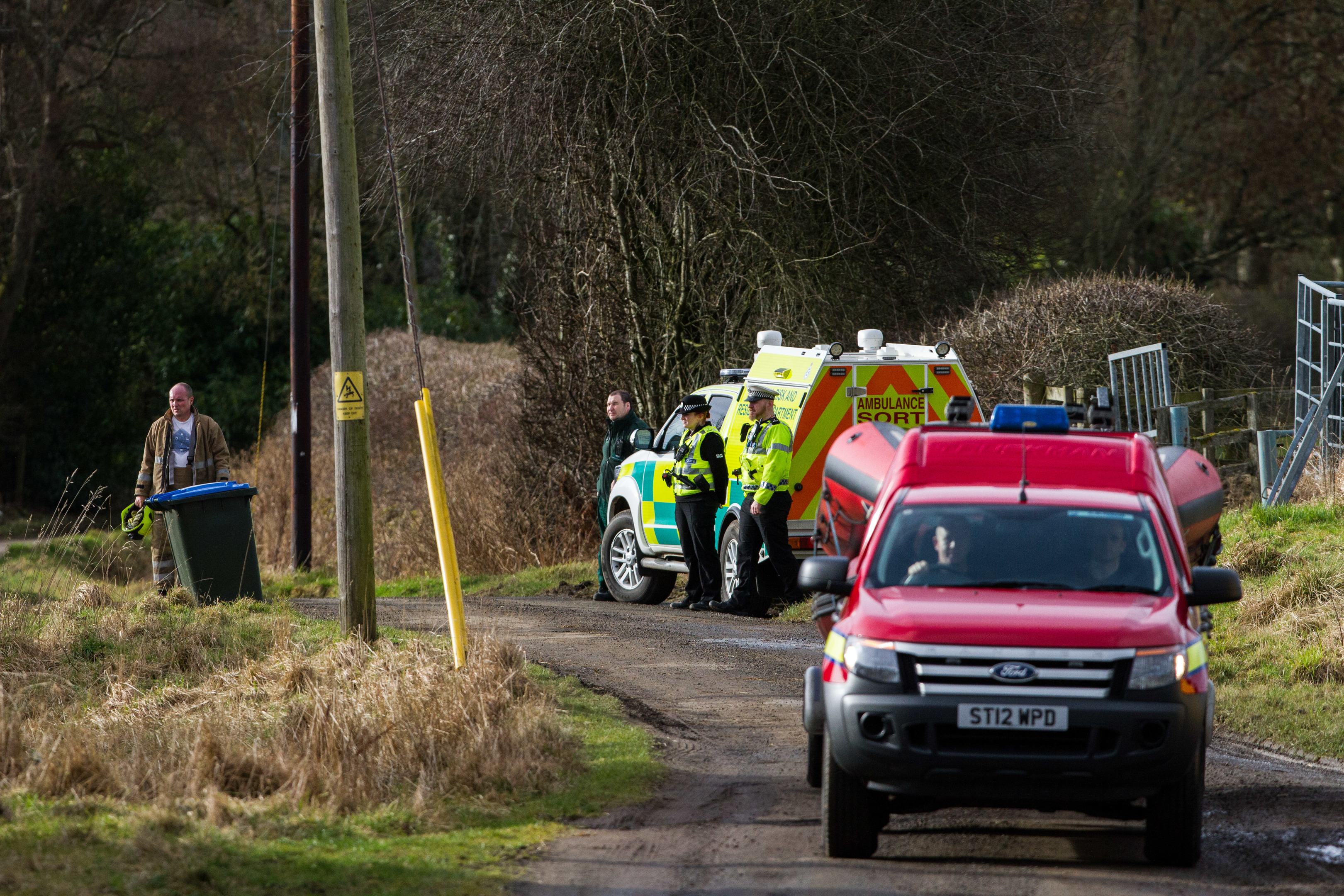 A search was launched to find the missing child
